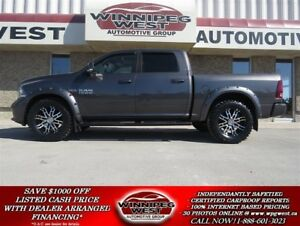2014 Dodge Ram 1500 SPORT CREW 4X4, HARD LOADED, EXTRAS, MAJOR L
