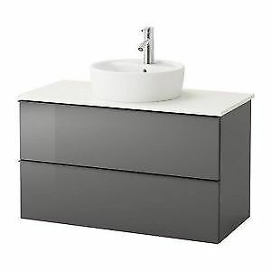 Ikea Godmorgon Sink Cabinet with Countertop - BRAND NEW! 40""