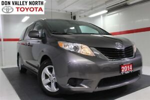 2014 Toyota Sienna LE 8 Passenger Btooth BU Camera Heated Front