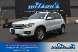 2015 Volkswagen Tiguan TRENDLINE 2.0L TURBO! HEATED SEATS! BLUET