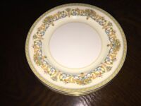 Aynsley China - Henley Design - Tea Plates - 3 off x 6.25""