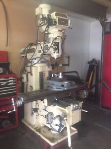 Selling my lathe and milling machine.