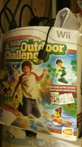 Wii SPORTS AND OUTDOOR CHALLENGE