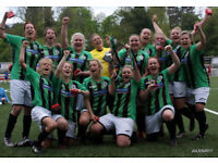 WOMENS FOOTBALL - YOUR LAST CHANCE TO JOIN A WINNING CLUB !!