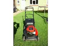Mountfield lawnmower ( self-propelled ) alloy deck.