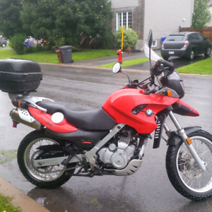 2002 BMW F650GS well maintained