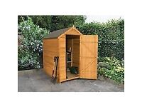 4x3ft Shed