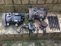RENAULT NISSAN DACIA 1.5 DCI K9K INJECTOR,FUEL PUMP,PLUS FUEL RAIL
