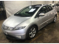 HONDA CIVIC 2.2 ES I-CTDI 5d 139 BHP SERVICE RECORD*** CLIMATE CONTROL PANORAMIC SUNROOF