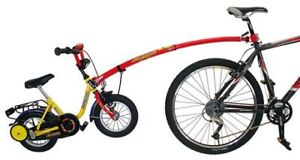 Wanted a trailer tow bar for kids bike