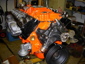 350 4 bolt main engine for rebuild and 1970 power glide trans