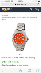 Swiss Army Dive Master Watch