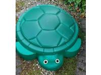 Paddling pool /sand pit ,little tykes turtle