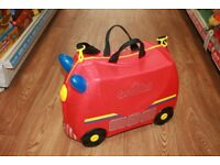 Fire Engine Trunki ride on suitcase