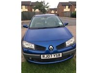 RENAULT MEGANE AUTOMATIC, 5DOORS, PANORAMIC ROOF, VERY LOW MILEAGE, TWO KEYS