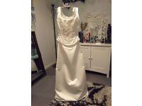 Ivory 2 Piece Wedding Dress - Size 10/12 by Jenny Packham - Unworn