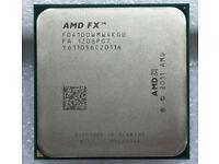AMD Bulldozer FX-4100 Socket AM3+ 4 Core Processor - 3.60GHz, 3.80GHz Turbo