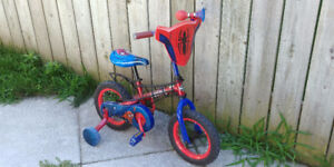 """Boy's 12"""" Spiderman Bicycle for Sale"""