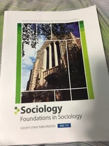 Usask Textbook - Sociology - Soc 111 Text