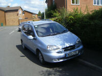 Chevrolet Tacuma 2.0 cdx auto mpv, Lpg/Petrol bi fuel mpv,2007 ,private reg,mot april 2018 cd.ac,