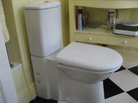 Modern Close Coupled Toilet Pan & Cistern