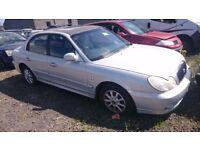 2002 HYUNDAI SONATA CDX, 2.0 PETROL, BREAKING FOR PARTS ONLY, POSTAGE AVAILABLE NATIONWIDE