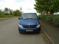 MERCEDES-BENZ VITO 2.1 115CDI Dualiner Basic Compact Panel Van 5dr Auto (blue) 2006
