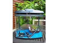 fish tank used for only 5 mths.With filter and led light.
