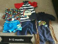 Swimming costumes and shorts 9- 12 months