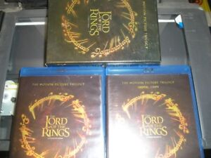 LORD OF THE RINGS TRILOGY DVD SET BLU-RAY + DIGITAL COPY