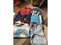 Boys bundle of clothes size 4-6 years