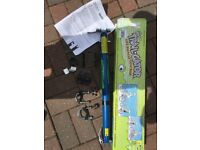 Trail-Gator Bicycle Tow Bar in Blue