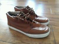 Next Brown trainers size 6