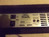 Ashdown MAG300 Bass Amp Head, used but good working order,great sound, wear and tear marks as normal