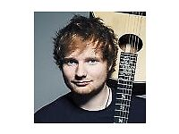 4 X Ed Sheeran tickets for Cardiff 23rd June 2018 - Seated Together