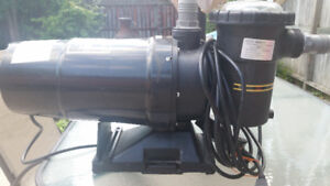 * REDUCES 2 YR old 1hp pump and sand filter.... $300 OBO