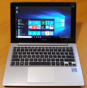 "ASUS VivoBook X202E 12"" Touch Laptop i5-3317U/4GB/500GB+8GB-SSD"