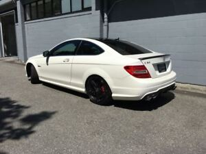 2012 Mercedes-Benz C-Class C63 AMG Coupe! Only 49000kms!!