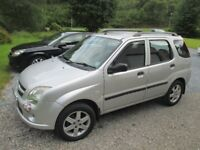 SUZUKI IGNIS VVT-S 5 DOOR HATCHBACK 1.5 2004 MODEL FITTED WITH TOW BAR AND ELECTRICS