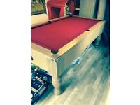 slate bed pool table and fruit machine