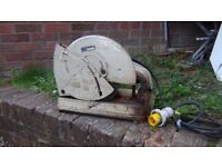 Makita metal chop saw with 3 free extra discs