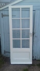 FREE external door. Needs a new lock
