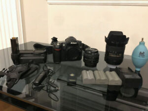 Nikon D80 set with 16-85 and more