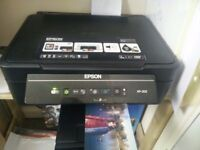 Epson XP-202 wireless all-in-one printer and scanner + ink cartridges
