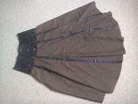 Periodic, fashion or steam punk skirt.