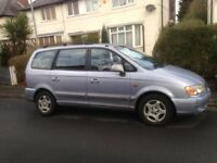 HYUNDAI TRAJET 2.0 CRTD Gsi 5DR Automatic. Low Mileage. MOT until November