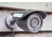Garden Camera Kit, weatherproof Day & Night IR colour camera