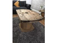 Beautiful hand crafted Coffee table
