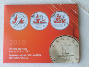 2010 OLYMPIC SPECIAL EDITION 9 COIN SET