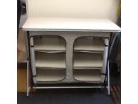 Xpress Zara folding camping/caravan larder/cupboard